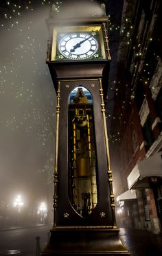 Tall Vancouver Steam Clock by James Wheeler on 500px