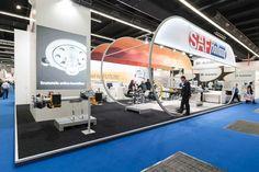 SAF Holland #Automechanica #Messebau #wumdesign #wum #Standgröße 150qm