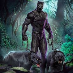 BLACK PANTHER #blackpanther #TChaka #wakanda #marvel #may2018a #royyledgerArt