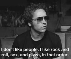 ...and metal! #steven #hyde #that70sShow #heavy #metal #rock #roll #sex #pizza