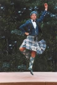 Highland Dancing:  Gareth Mitchelson, Champion of Cowal
