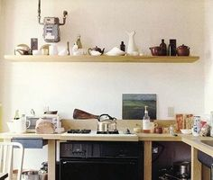 10 Favorites: Rustic Open Shelving in the Kitchen: Remodelista