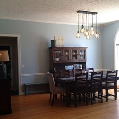 Completed Project Furniture James Light Fixture Pottery Barn Wall Color