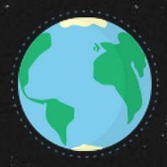 Os artistas e designers David Paliwoda e Jesse Williams criaram um site que ilustra a Terra, a Lua e Marte em pixels e simula uma viagem entre eles.