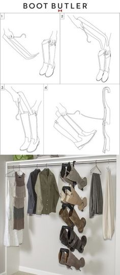 #27. The Boot Butler -- 55 Genius Storage Inventions That Will Simplify Your Life
