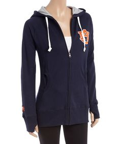 This Auburn Tigers Long Zip-Up Hoodie - Women is perfect! #zulilyfinds