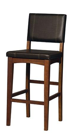 Amazon.com - Linon Home Decor Milano Bar Stool, 30-Inch - Barstools