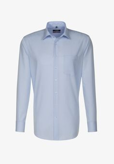Seidensticker MODERN FIT - Str. 43-44 Emporio Armani, Formal Shirts, Modern, Long Sleeve Shirts, Light Blue, Shirt Dress, Fitness, Mens Tops, Shopping