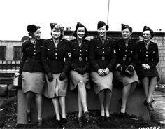 WWII women's uniform. CLASSY!
