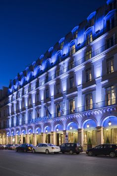 Reportage Eclairage Hôtel Meurice à Paris