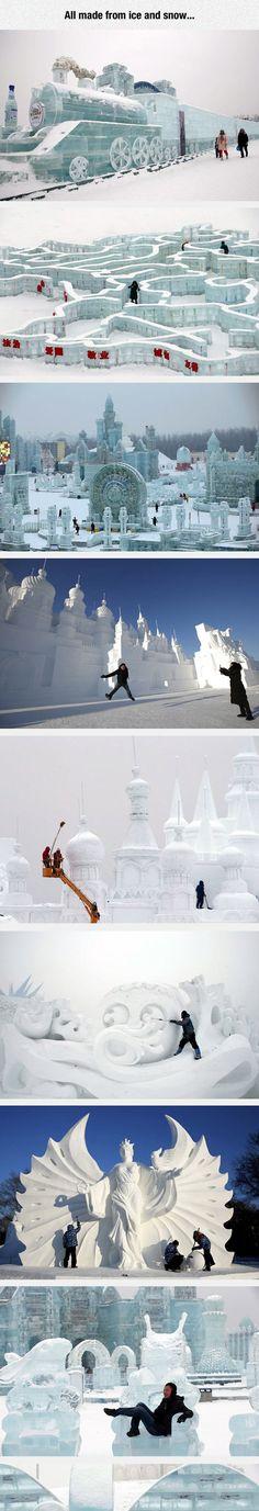 A World Of Ice #streetart