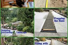 All CORE Gravel™ grids come with a geotextile fabric heat-welded to the back of every single honeycomb cell. This saves time and money during installation Gravel Pathway, Gravel Landscaping, Small Front Yard Landscaping, Gravel Driveway, Diy Driveway, Driveway Design, Driveway Ideas, Driveway Installation, Landscape Design