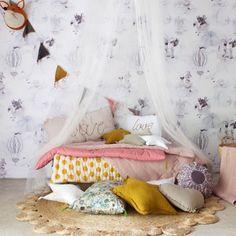 Beautiful styling by @jimmycricketau Mix Flashy garland, cushions, futon and canopy by Numero74