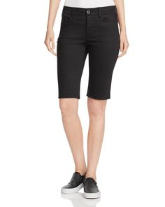 Nydj Christy Bermuda Shorts in Black