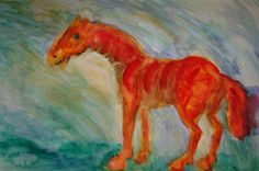 not only the elongated figures make it tempting to imagine the human figure the rising sun, where the outline disappears into the surrounding refractive figure. My Horse, Horses, I Walk Alone, She Left Me, Character Types, Framed Prints, Canvas Prints, Rising Sun, Famous Artists