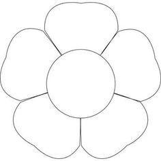 flower template ile ilgili görsel sonucu
