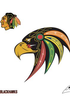 A Cooler Replacement For The Blackhawks Controversial Logo Goes Viral