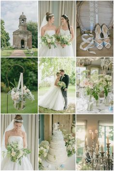 Gorgeous White Wedding in England | Ria Mishaal Photography | Bridal Musings Wedding Blog