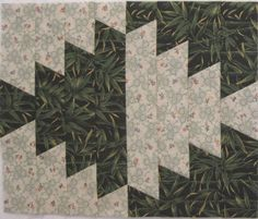 Reflections quilt pattern from Fons & Porter