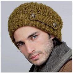 La Mercerie du Faubourg aime ce modèle gratuit bonnet homme au tricot.