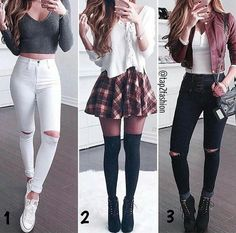 Teenage girl outfits, cute outfits for school, cute fall outfits, chic outf Teenager Outfits, Teenager Mode, Teenage Girl Outfits, Cute Outfits For School, Teen Fashion Outfits, Cute Casual Outfits, Mode Outfits, Cute Fashion, Outfits For Teens