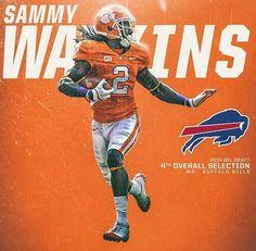 e75811936 Sammy Watkins Buffalo Bills Football