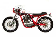 Cherry Cafe Racer by Deus