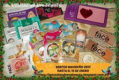 Hola amores!!!!! Aquí tenéis el Sorteo Navideño de este año!!!!! Espero que os gusten los regalos y os animéis a participar. Besotes!!!! #lascositasdeevabeauty #NavidadEvaBeauty2017 #sorteo #sorteos #sorteoblog #sorteosblog #sorteonavideño #sorteoblogger #sorteobloggers #beautyblogger #blog #blogger #beautybloggers #beautyblog #bloggerespaña #bloggerbelleza #makeup #maquillaje #belleza #beauty