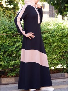 e936bbd3e040 Jersey Manisha Maxi Dress Burqa Designs, Gaun Muslim, Modest Dresses,  Simple Dresses,