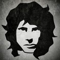 how to draw tribal jim morrison
