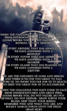 Most memorable quotes from Havamal, a book based on novel. Find important Havamal Quotes from book. Havamal Quotes about Warrior, Viking and Odin spear. Viking Life, Viking Warrior, Warrior Spirit, Warrior Quotes, Norse Pagan, Norse Mythology, Viking Quotes, Pagan Quotes, Viking Culture