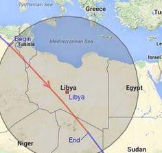 للمرة الثانية التحلي بضبط النفس امام انتهاك محطة الفضاء الدولية لاجواء الجنوب الليبي .