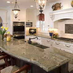 Seafoam Granite Design, Pictures, Remodel, Decor and Ideas