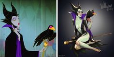 AnArtist Turns Cartoon Characters Into Hot Beauties Like WeHaven't Seen Them Before