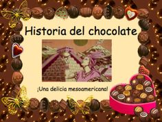 """Lesson in Spanish about the History of Chocolate. From its origin in Mesoamérica to European delicacies during the Spanish conquest.I used this presentation when Reading or Watching """"Like Water for Chocolate"""". I made my students take cornell notesToda la historia sobre el chocolate... Spanish Chocolate, History Of Chocolate, Like Water For Chocolate, Spanish Heritage, Speakers, Presentation, Students, Reading, Food"""