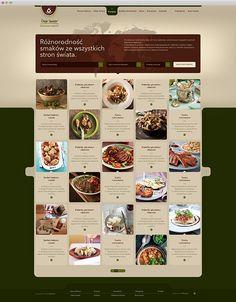 Oleje Świata by Karol Jaworski, via Behance Food Web Design, App Design, Print Design, Web Grid, Apps, Digital Tablet, Ui Web, Book Design Layout, Interface Design