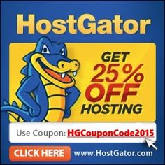 25% OFF Hostgator Coupon Code..Copy: HGCouponCode2015 (http://couponcodehostgator.info/)