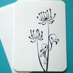 Personalized Note Cards - Dandilion - Tabitha - set of 6