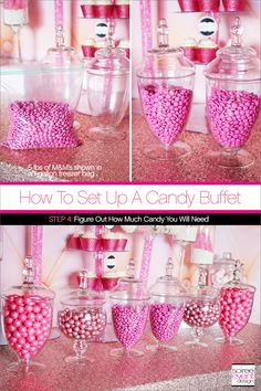 77 best how to setup a candy buffet in 6 steps images in 2019 rh pinterest com