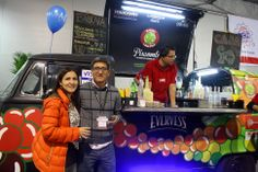 PISCOMBI - combi bar pisquera en Feria Grafinca -