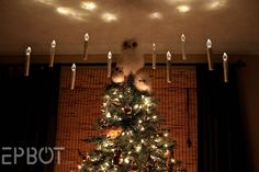 EPBOT: Harry Potter Inspired Floating Christmas Candles!