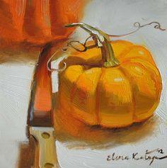 Paintings by Elena Katsyura: Gifts of October
