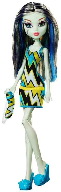 Amazon.com: Monster High Frankie Stein Doll: Toys & Games