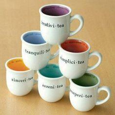 Mugs, colors.........I want!