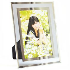 Giftgarden® #6x4 Glass Photo Picture #Frame with Simple Design