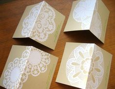 That Girl: Doilies and a little Wedding Philosophy