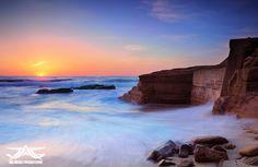 Aaron Goulding Photography 1973 Prospect st. La Jolla Ca 92037 #beach #sunset #rock AAron Goulding Photography