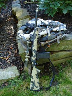 Remington 700 chambered in .458 SOCOM