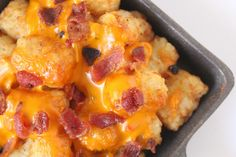 Our Mini Family: Cheese and Bacon Loaded Tater Tots