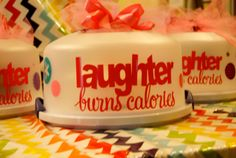 Personalized Cake Carrier by CleverCupcakeGifts on Etsy, $19.99